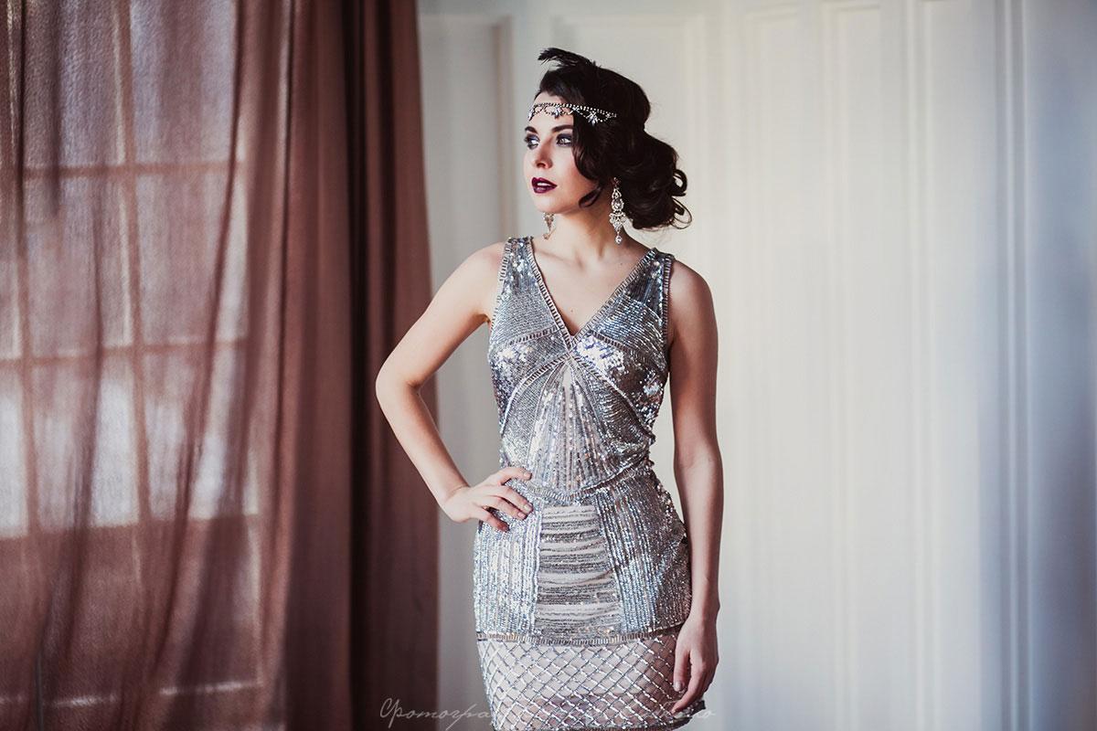Платье в стиле Гэтсби Manhattan