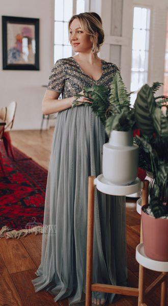 Вечернее платье для беременных Maranta Twinkle