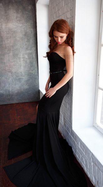 Вечернее платье для роковой обольстительницы