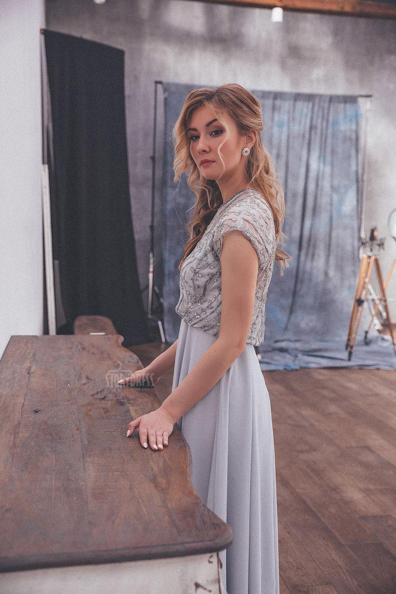Вечернее платье для официального приема