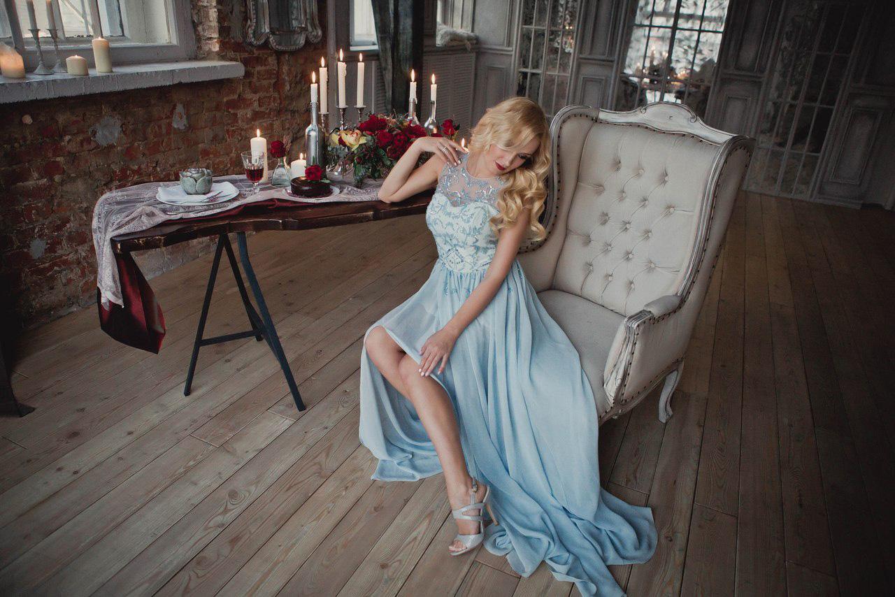 Вечернее платье для фотосессии
