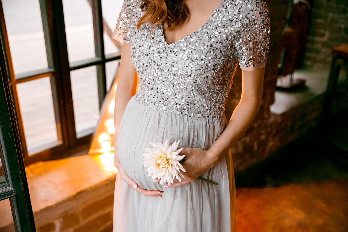 Красивое белье для беременных на фотосессию