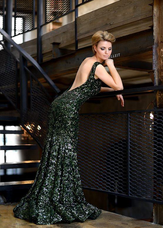 Элегантное вечернее платье Сирена