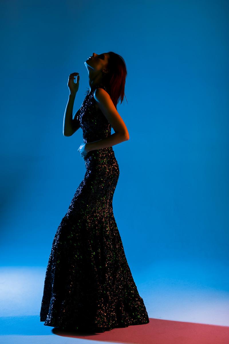 Вечернее платье для фото