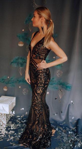 Длинное вечернее платье Rita Black