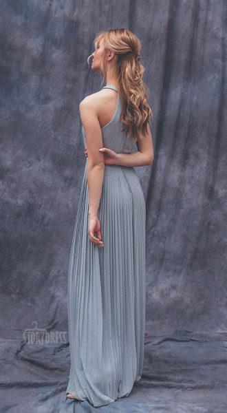 Вечернее платье с плиссировкой Penelope