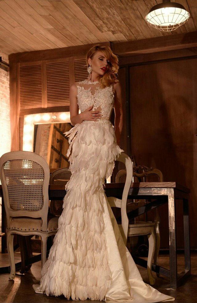Купить Платье С Перьями Москва