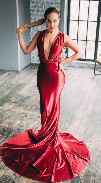 Платье-трансформер Extremely Dangerous Red
