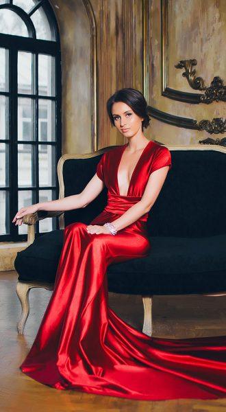 Платье трансформер Extremely Dangerous Red