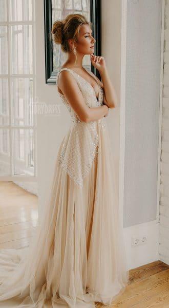Платье с пышной юбкой Amanda