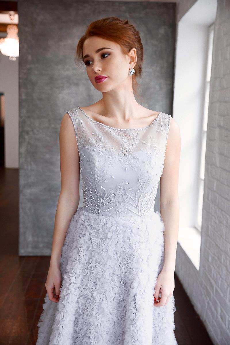 Роскошная юбка в уникальной дизайнерской технике