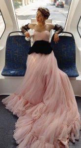 Пышное платье напрокат Belle