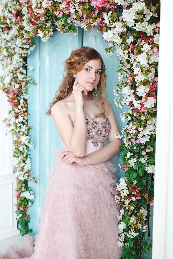 Фееричное и нетривиальное платье