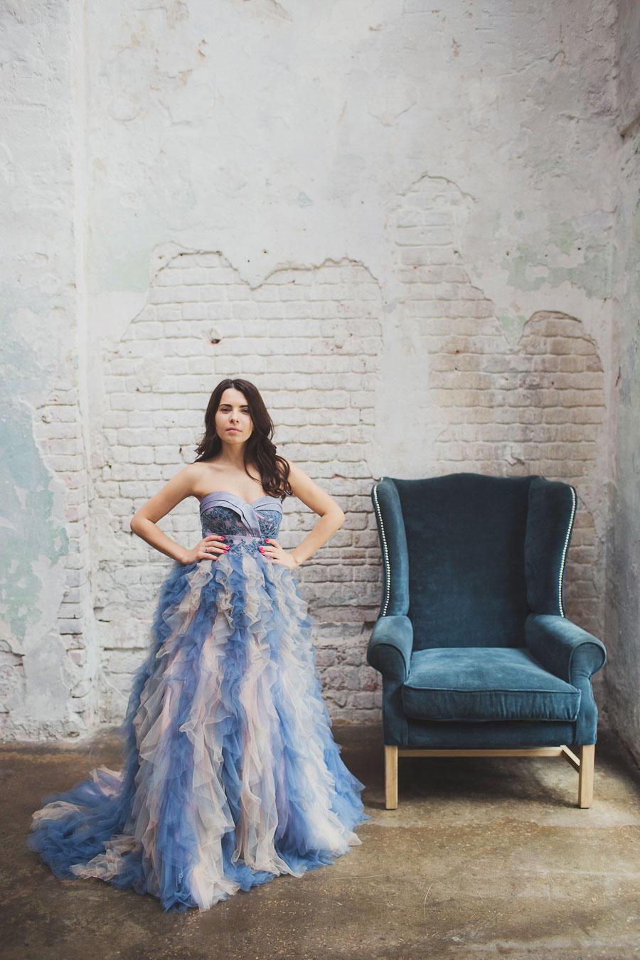 Пышное платье для фотосессии