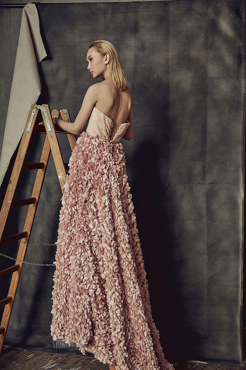 Пышное платье Gortenzia Peach