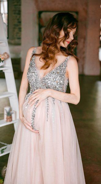 Вечернее платье для беременных в аренду в Москве