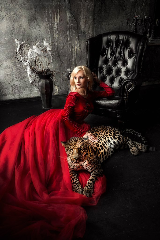 Фотосессия с леопардом