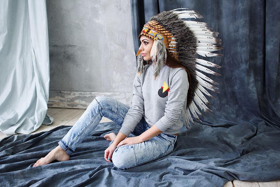 Шапка индейца в аренду
