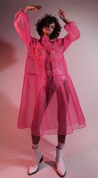 Коктейльное платье из органзы Baby Boss