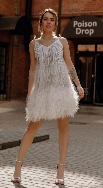Платье в стиле Голливуд Duffy White