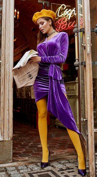 Коктейльное платье Fiesta Purple