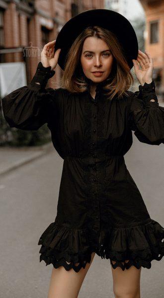 Прокат черного платья Trendy Dress Black