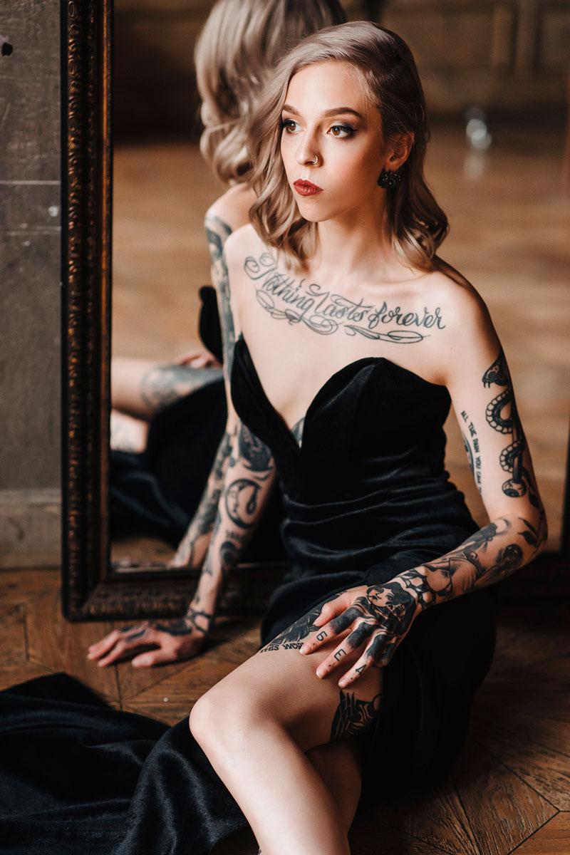 Kot Tattoo Studio Photo Shoot 03 платья в аренду и напрокат москва