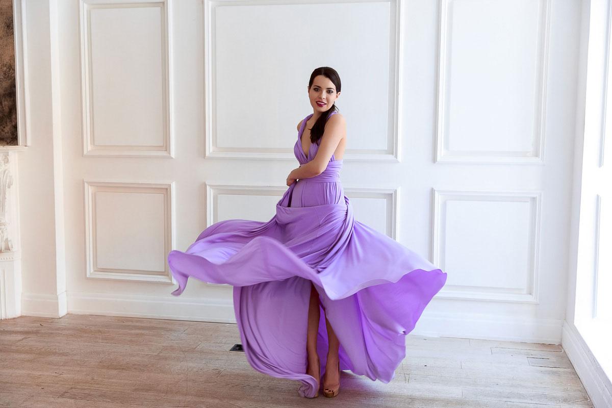 Платье-трансформер для фотосессии