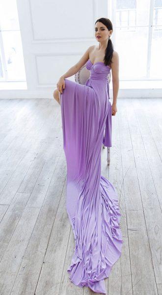 Лавандовое платье-трансформер Lavender Transformer