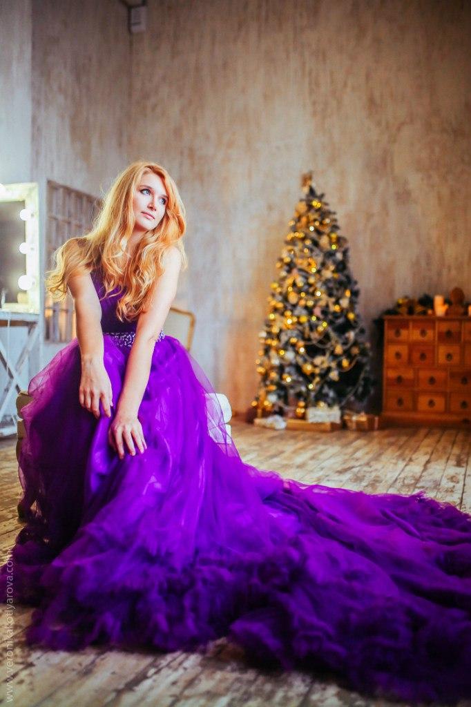 Новогодняя фотосессия с Вероникой Котляровой