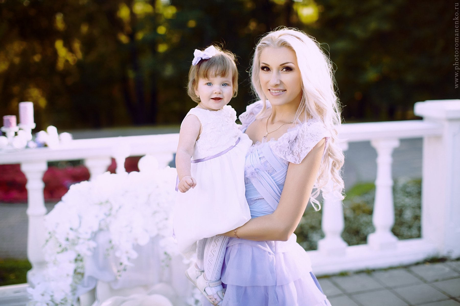 Фотосессия мама-дочка