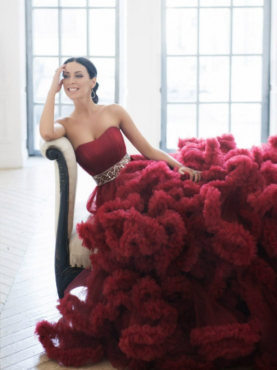 фото будет позирование для фотосессии в платье облако кроватке