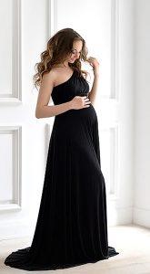 Чёрное платье-трансформер Black Transformer Dress