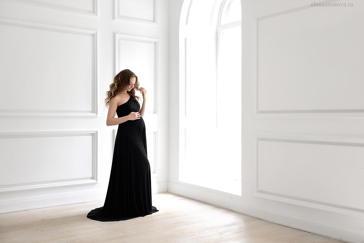 Черное платье-трансформер