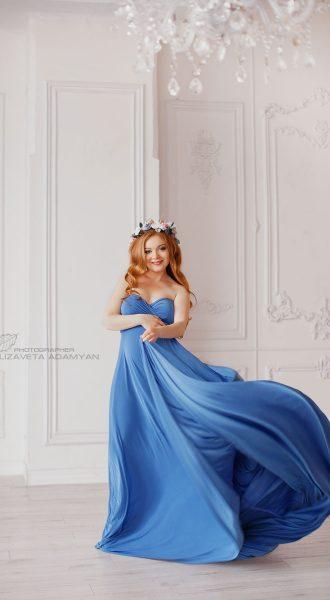 Фотосессия в платье трансформере