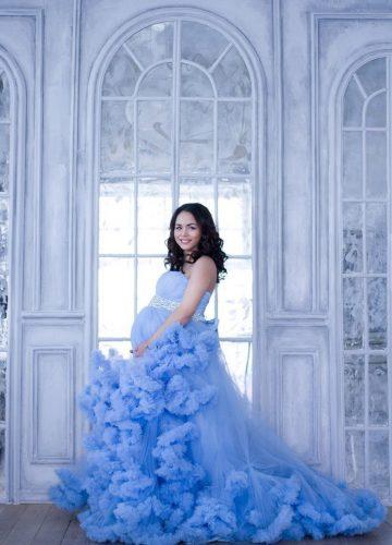 Платье для тематической фотосессии будущей мамы