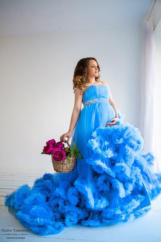 Фотосет беременной модели