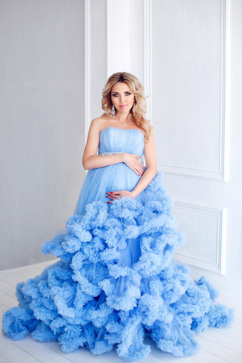 Платье-облако для беременных