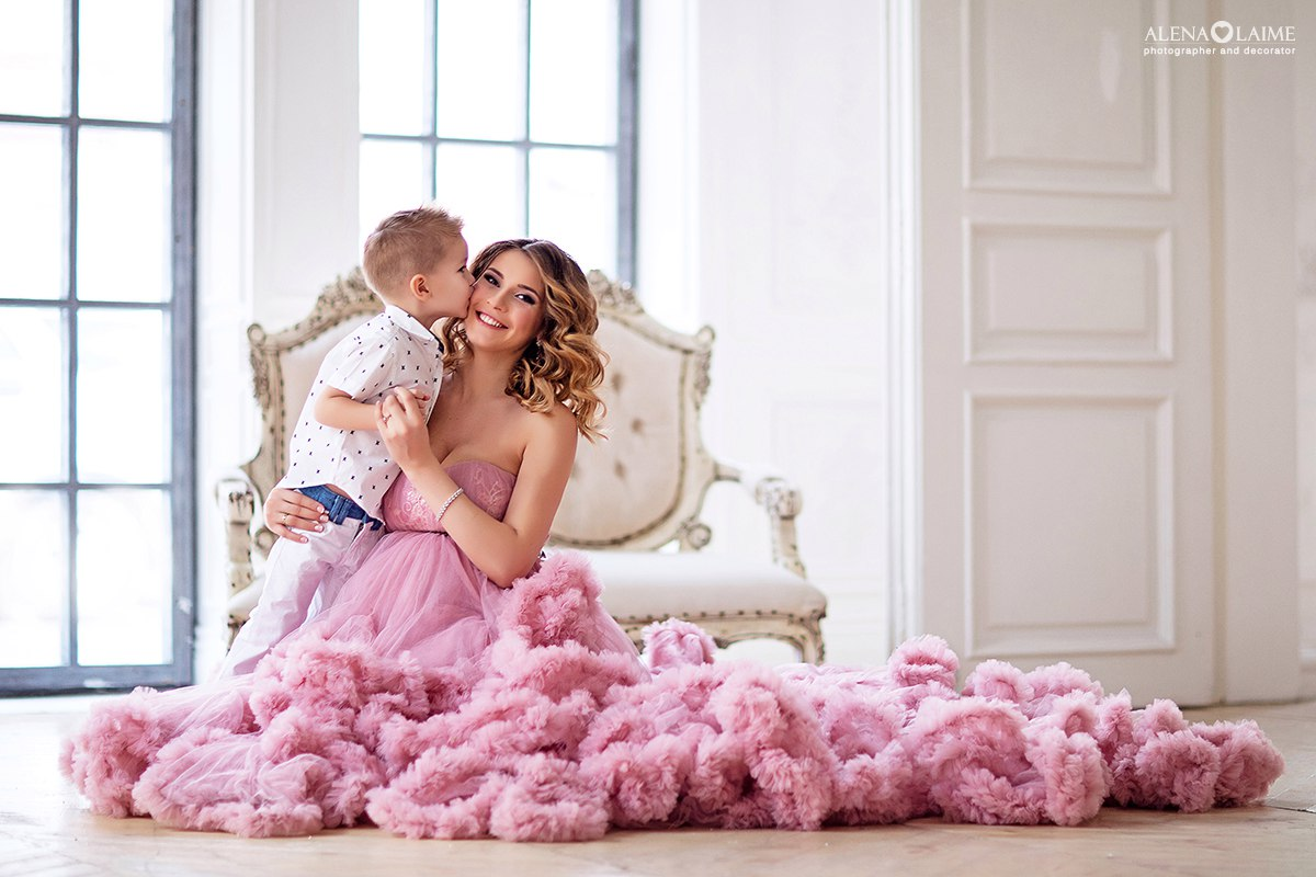Фотосессия с сыном
