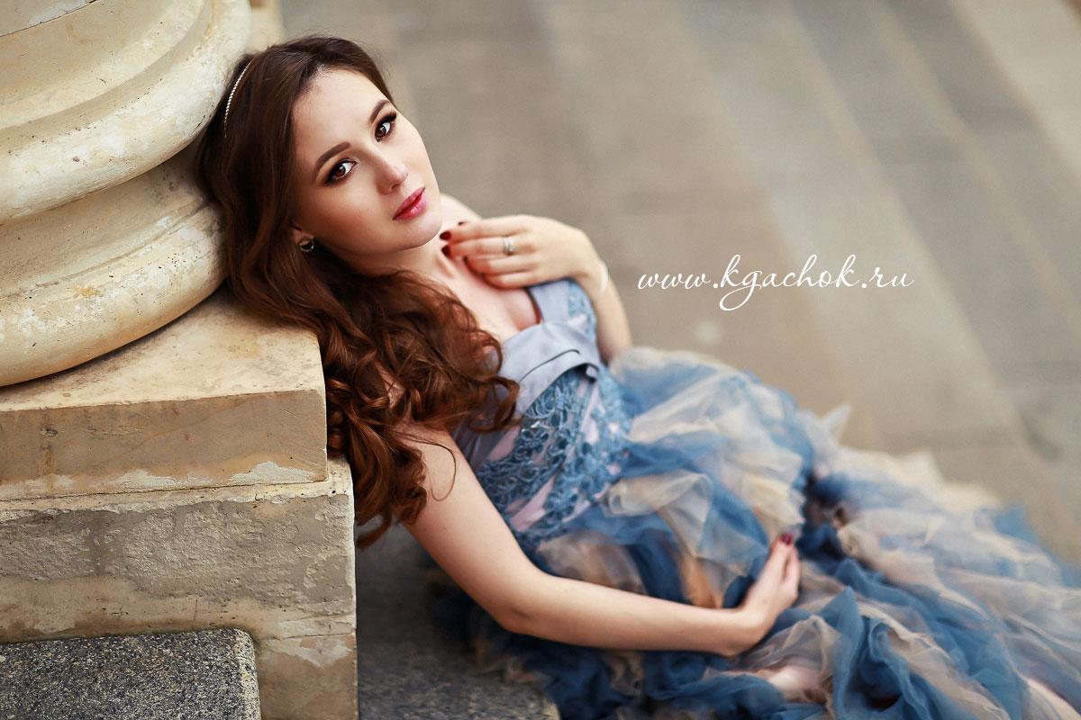 Роскошное платье для беременной