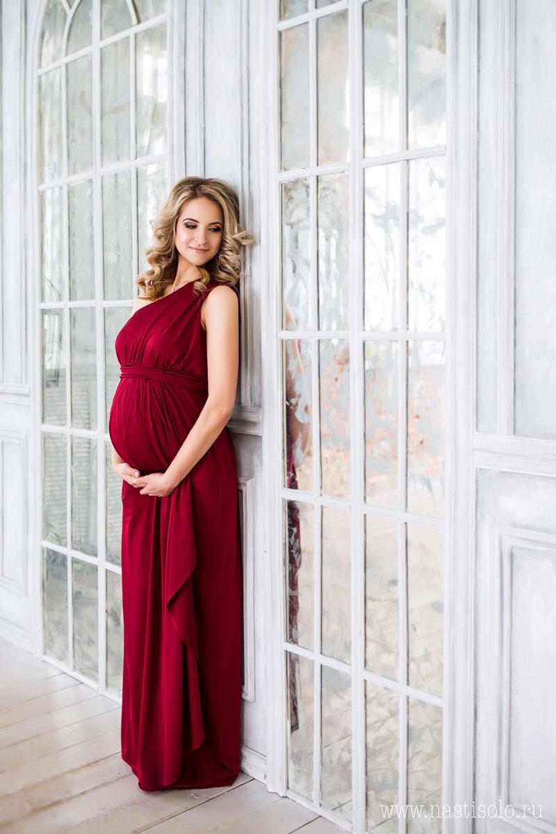 Платье для беременных в греческом стиле