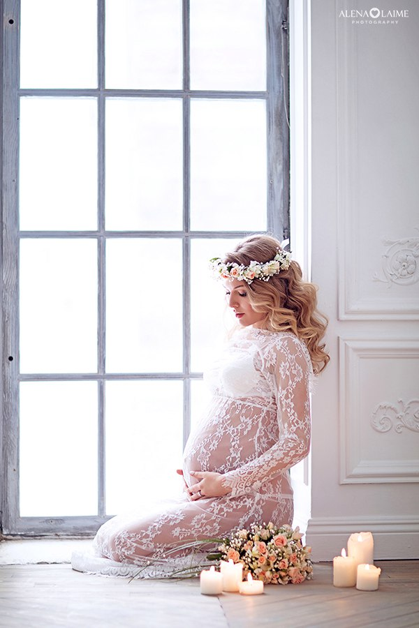 Фотосессия беременности Алены Лайм