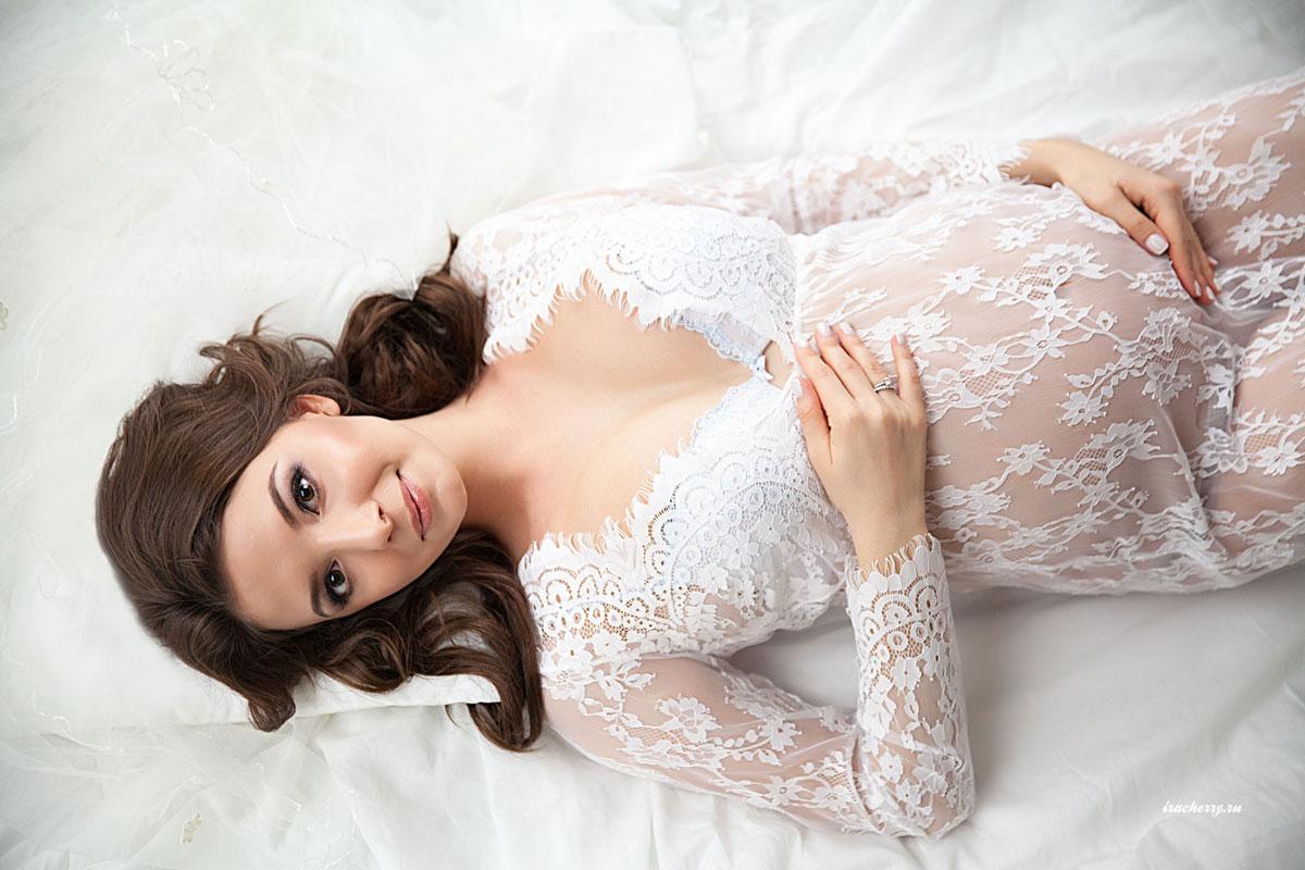 Пеньюар Диана для фото беременности