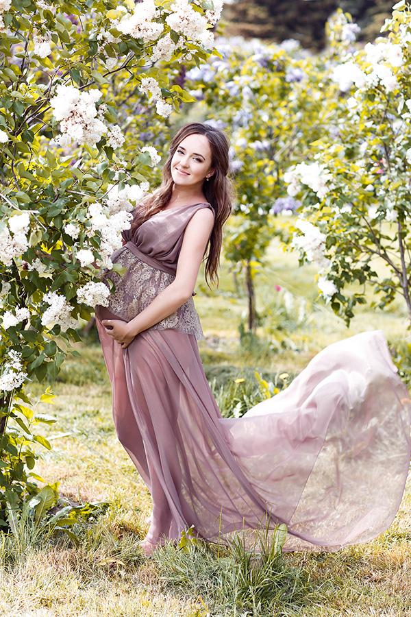Прокат платьев для фотосессии беремености