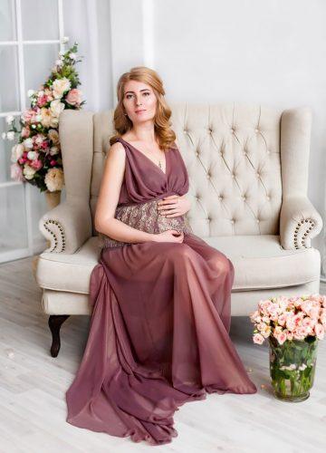 Платье для фотосета беременной