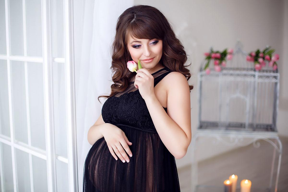 Платье для фотографирования беременной
