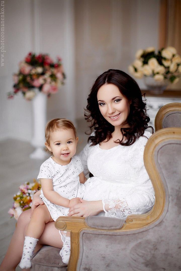 Семейная фотосессия с дочкой
