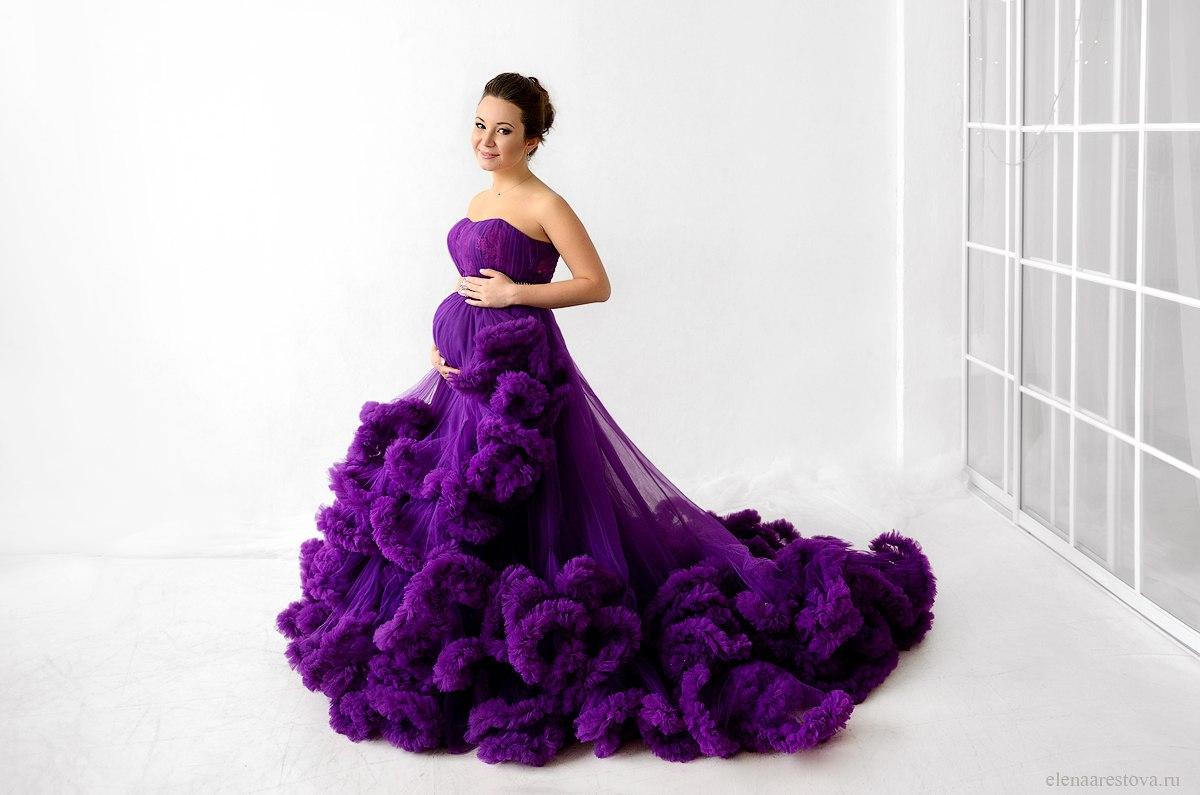 Облачное платье для беременных