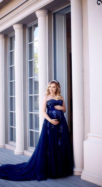 Красивое синее платье Москва