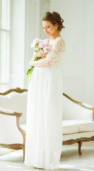 Платье для беременных Vanilla Summer